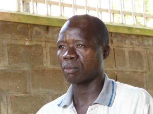 Bestuurslid and trainer Geoffrey