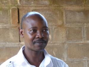 Voorzitter David Kabaale